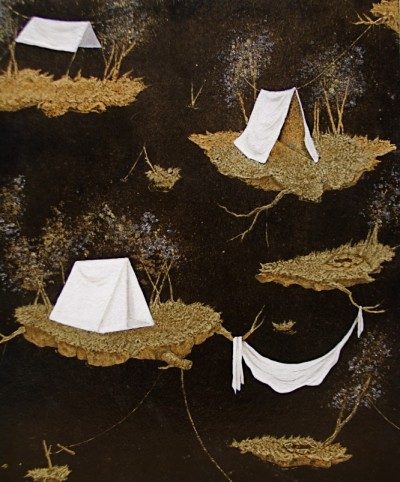 Tent Toile by Sophie Coryndon